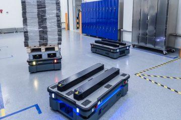 Autonomiczne roboty mobilne – intralogistyka i ochrona zdrowia