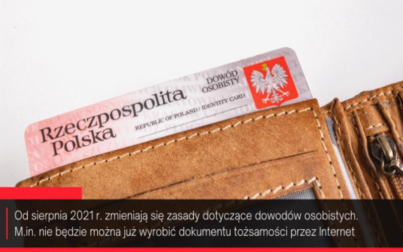 portfel z dowodem tożsamości