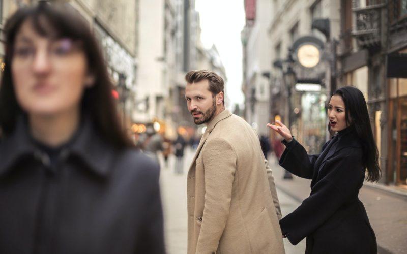 ludzie na ulicy